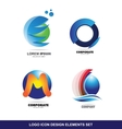 Logo icon design elements set