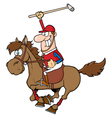 Polo Player Polo vector image vector image