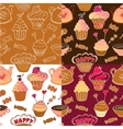 Tea Party seamless pattern vector image vector image
