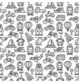 transport seamless pattern vector image