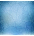 Abstract blue vintage background vector image vector image