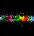 Color paint splashes vector | Price: 1 Credit (USD $1)