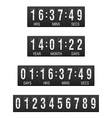 countdown timer 04 vector image vector image