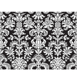 seamless abstract floral damask background vector image vector image
