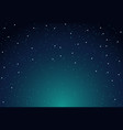sky star background night starry space vector image