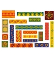 African ethnic ornaments and patterns
