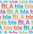 Bla-bla-bla walpaper