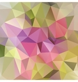 Bright rainbow background from mosaic triangles vector image