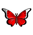 cethosia biblis butterfly icon cartoon style vector image