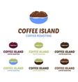 Coffee Island Logo vector image vector image