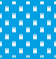 crayons pattern seamless blue vector image vector image