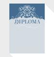 Diploma blue grey
