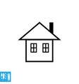 home icon house icon sign vector image