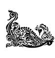 Pattern bird Design- vector image vector image