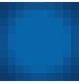 square pixel blue backdrop vector image vector image