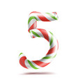 5 number five 3d number sign figure 5 in vector image