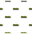 armoured troop carrier pattern flat vector image vector image