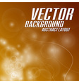 background light abstract orange vector image vector image
