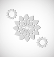 Flower Shapes vector image vector image