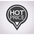 hot price icon vector image