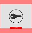 key icon keys symbol flat design vector image vector image