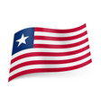national flag of liberia red and white horizontal