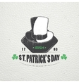 Saint Patricks Day Luck of the Irish Detailed vector image vector image