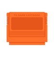 tv game cartridge vector image vector image