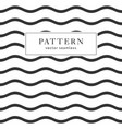 waves geometric seamless pattern vector image