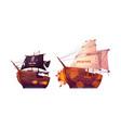 battle between torrent and internet sea fight vector image vector image