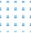 cargo arrow up icon pattern seamless white vector image vector image