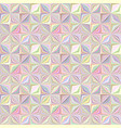 colorful geometric striped tile mosaic pattern vector image vector image
