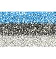 estonia sparkling flag vector image vector image