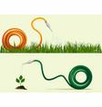 garden hose vector image vector image