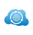 golf technology logo design template vector image