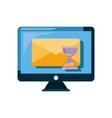online shopping market vector image