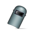 protective welding mask vector image vector image