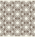 stylish abstract seamless black and white pattern vector image vector image