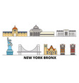 United states new york bronx flat landmarks