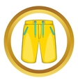 Breeches icon vector image vector image