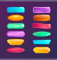 colorful windows options isolated set vector image
