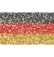 germany sparkling flag vector image vector image