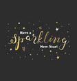 greeting card for celebrations sparkling hand vector image vector image