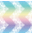 holographic ink bleed seamless pattern in rainbow vector image vector image