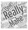 questions you should ask to yourself Word Cloud vector image vector image