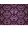 Seamless Wallpaper Pattern Dark vector image vector image