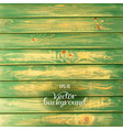 wood plank green background vector image vector image