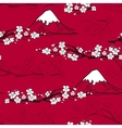 Japanese Flower Pattern vector image
