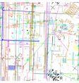 simulating blueprint vector image