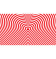 abstract background with a heart pattern vector image vector image